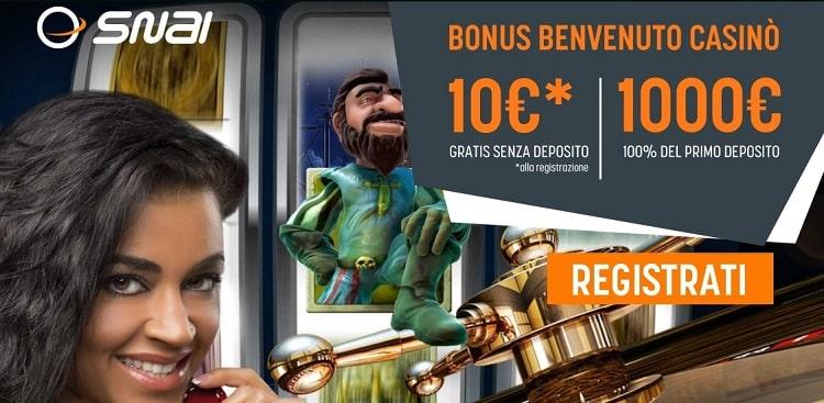 Snai_casino_bonus