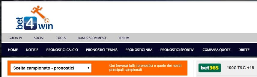 pronostici_bet4win