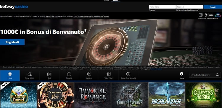 come_sbloccare_bonus_benvenuto_betway_casino