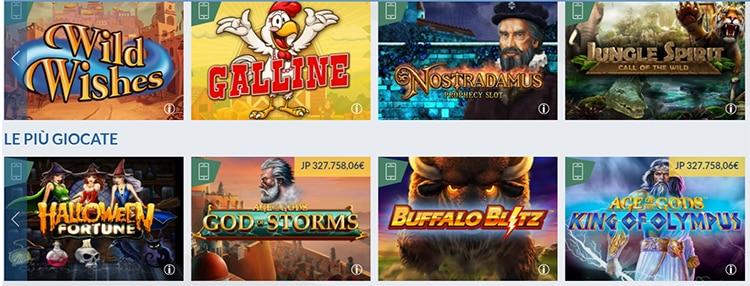 Eurobet_slot_casinò_giochi_vari