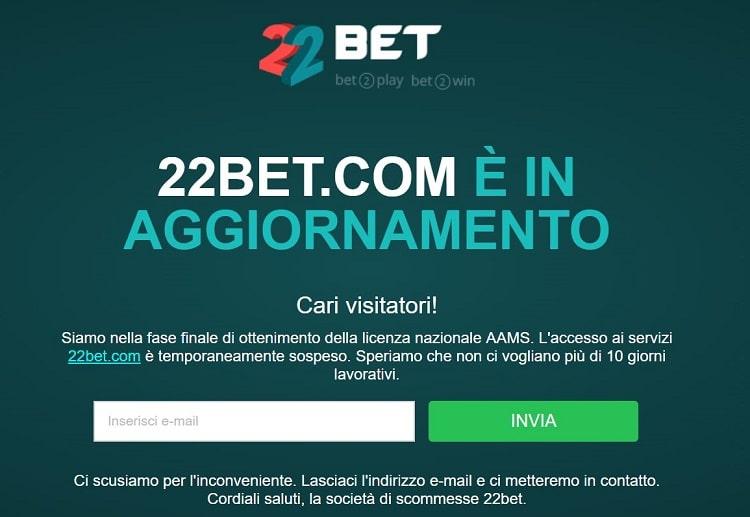 22bet_aams_scommesse_sportive
