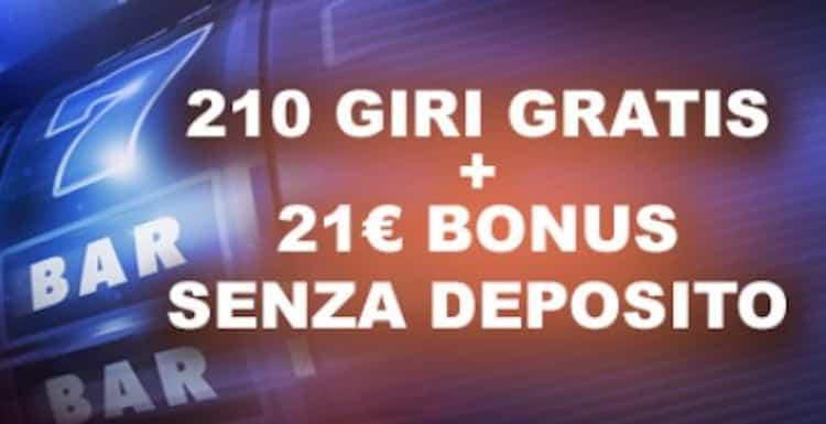 casino21_rollover_bonus_benvenuto