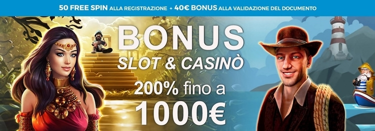 Bonus Benvenuto AdmiralYes Casino