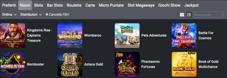 la sezione planetwin365 casino