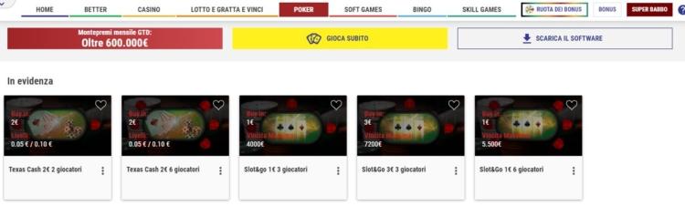 lottomatica-poker