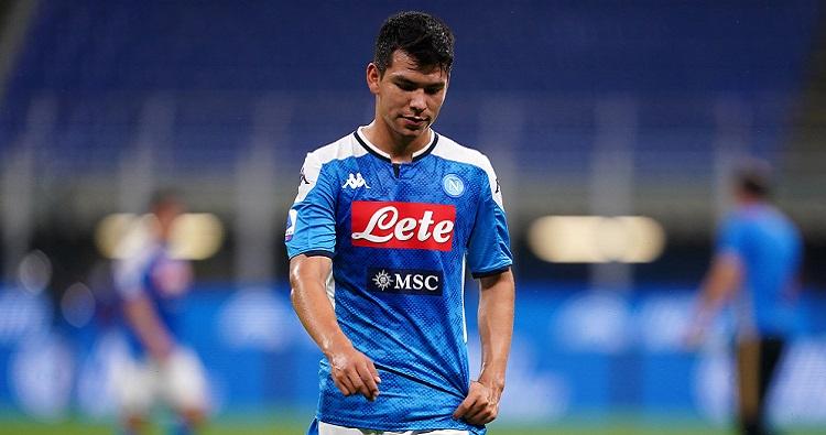 L'attaccante messicano del Napoli, Hirving Lozano
