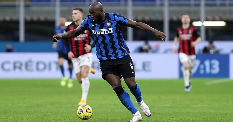 Il centravanti dell'Inter Romelu Lukaku
