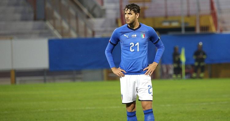 Il centrocampista della Nazionale Manuel Locatelli