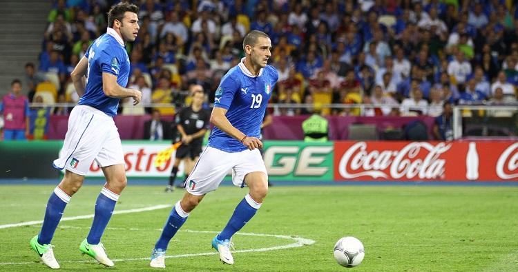 Il difensore della Nazionale Leonardo Bonucci