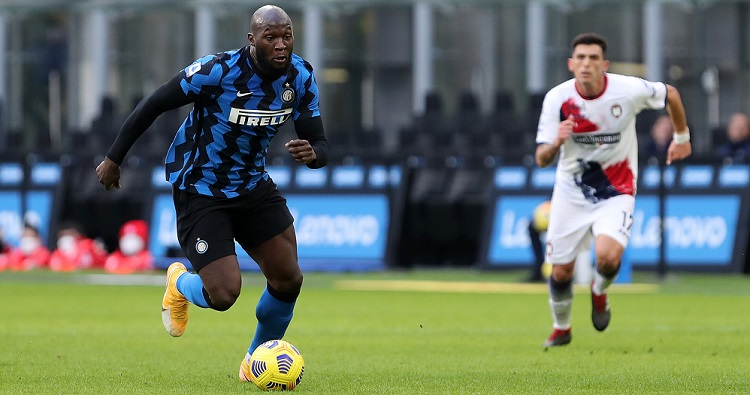 Il bomber dell'Inter Romelu Lukaku