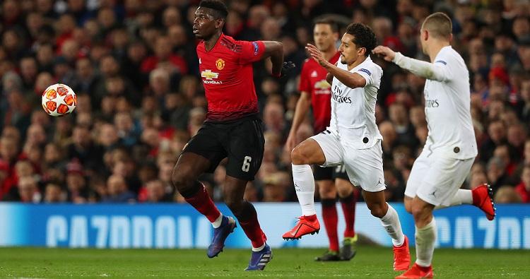 Il centrocampista francese Paul Pogba