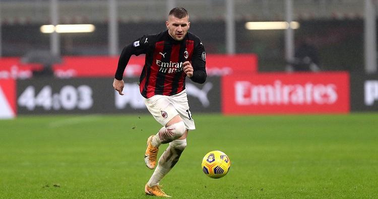 L'attaccante croato del Milan Ante Rebic