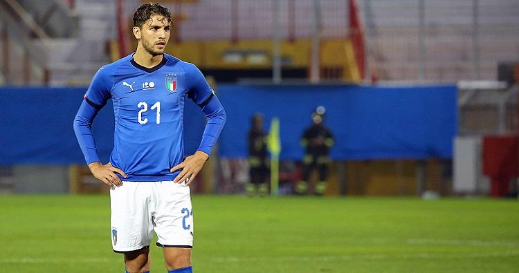 Il centrocampista dell'Italia, Manuel Locatelli