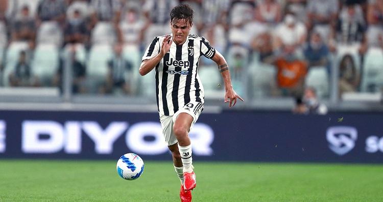 L'attacante della Juventus Paulo Dybala