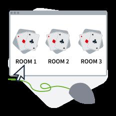 Scegliere una poker room online gratis